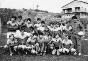 68-69 Première équipe Cadets