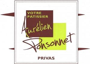 Pâtisserie Aurélien Ponsonnet