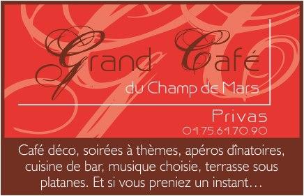 Grand café du champ de mars & Taxi Ambulance VSL Pontal